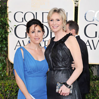 Lara Embry, Jane Lynch in 68th Annual Golden Globe Awards - Arrivals