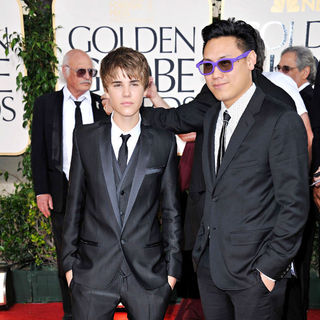 Justin Bieber in 68th Annual Golden Globe Awards - Arrivals