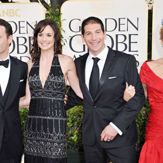 Andrew Lincoln, Sarah Wayne Callies, Jon Bernthal, Laurie Holden in 68th Annual Golden Globe Awards - Arrivals