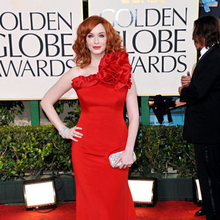 Christina Hendricks in 68th Annual Golden Globe Awards - Arrivals