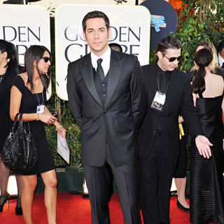 Zachary Levi in 68th Annual Golden Globe Awards - Arrivals