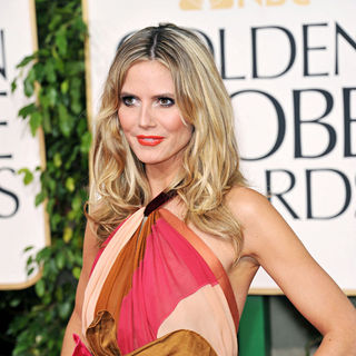 Heidi Klum in 68th Annual Golden Globe Awards - Arrivals