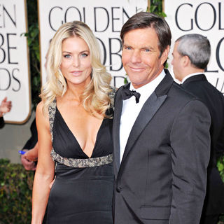 Kimberly Buffington, Dennis Quaid in 68th Annual Golden Globe Awards - Arrivals