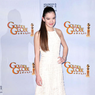 Hailee Steinfeld in 68th Annual Golden Globe Awards - Press Room