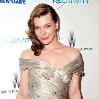 Milla Jovovich in Weinstein Company's Golden Globe Awards After Party - Arrivals