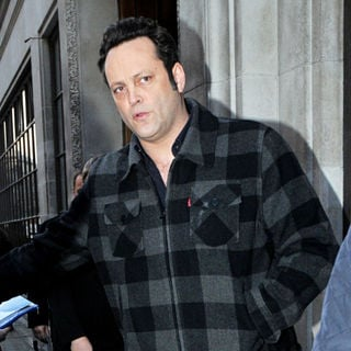 Vince Vaughn in Celebrities Outside The BBC Radio One Studios