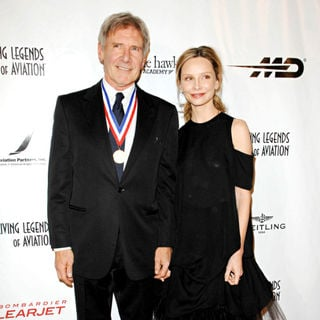 Harrison Ford, Calista Flockhart in The 8th Annual Living Legends of Aviation Awards - Arrivals