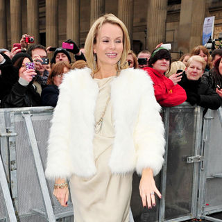 Amanda Holden Arrives for The 'Britain's Got Talent' Auditions