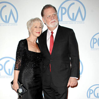 Helen Mirren, Taylor Hackford in The 22nd Annual Producers Guild (PGA) Awards - Arrivals