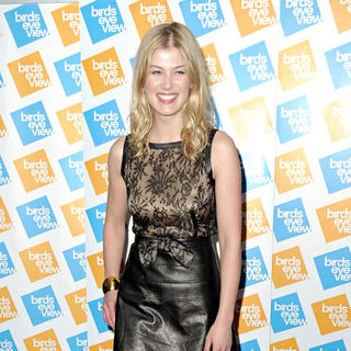 Rosamund Pike in Announcement Party for The 2011 Birds Eye Film Festival