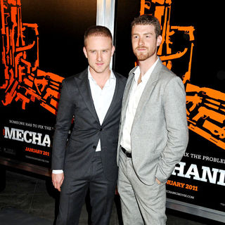 Ben Foster, Jon Foster in The Los Angeles Premiere of 'The Mechanic' - Arrivals