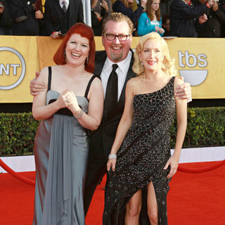 Kate Flannery, Angela Kinsey in The 17th Annual Screen Actors Guild Awards (SAG Awards 2011) - Arrivals