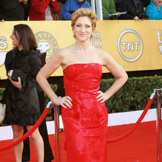 Edie Falco in The 17th Annual Screen Actors Guild Awards (SAG Awards 2011) - Arrivals