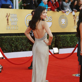 Naya Rivera in The 17th Annual Screen Actors Guild Awards (SAG Awards 2011) - Arrivals