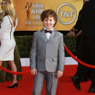 Nolan Gould in The 17th Annual Screen Actors Guild Awards (SAG Awards 2011) - Arrivals