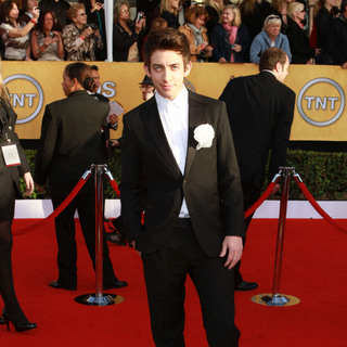 Kevin McHale in The 17th Annual Screen Actors Guild Awards (SAG Awards 2011) - Arrivals
