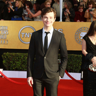 Chris Colfer in The 17th Annual Screen Actors Guild Awards (SAG Awards 2011) - Arrivals