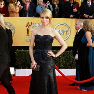 Dianna Agron in The 17th Annual Screen Actors Guild Awards (SAG Awards 2011) - Arrivals
