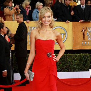 Katrina Bowden in The 17th Annual Screen Actors Guild Awards (SAG Awards 2011) - Arrivals