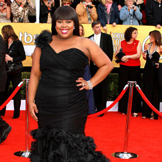 Amber Riley in The 17th Annual Screen Actors Guild Awards (SAG Awards 2011) - Arrivals