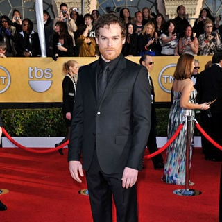 Michael C. Hall in The 17th Annual Screen Actors Guild Awards (SAG Awards 2011) - Arrivals