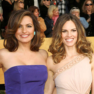 Mariska Hargitay, Hilary Swank in The 17th Annual Screen Actors Guild Awards (SAG Awards 2011) - Arrivals