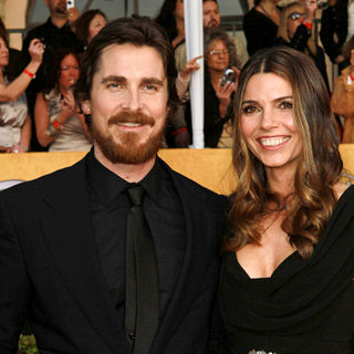 Christian Bale, Sibi Blazic in The 17th Annual Screen Actors Guild Awards (SAG Awards 2011) - Arrivals