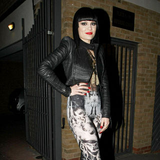 Jessie J Heads Out to Barfly in Camden to Perform A Gig