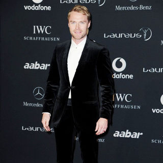 Ronan Keating in Laureus World Sport Awards