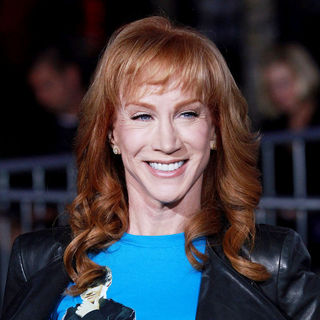 "Kathy Griffin in Los Angeles Premiere of ""Justin Bieber: Never Say Never"""