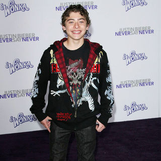 "Ryan Ochoa in Los Angeles Premiere of ""Justin Bieber: Never Say Never"""