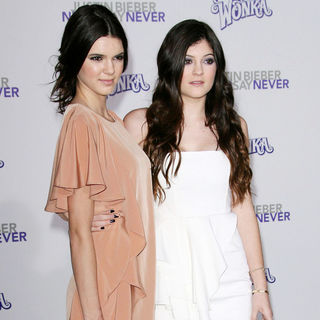 "Kendall Jenner, Kylie Jenner in Los Angeles Premiere of ""Justin Bieber: Never Say Never"""