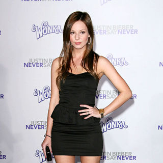 "Samantha Droke in Los Angeles Premiere of ""Justin Bieber: Never Say Never"""