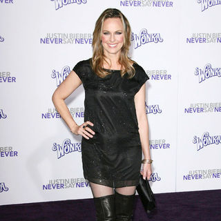 "Melora Hardin in Los Angeles Premiere of ""Justin Bieber: Never Say Never"""
