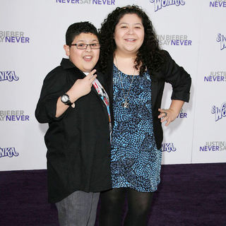 "Rico Rodriguez, Raini Rodriguez in Los Angeles Premiere of ""Justin Bieber: Never Say Never"""