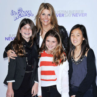 "Lori Loughlin in Los Angeles Premiere of ""Justin Bieber: Never Say Never"""