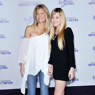 "Heather Locklear, Ava Sambora in Los Angeles Premiere of ""Justin Bieber: Never Say Never"""