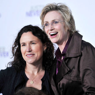 "Lara Embry, Jane Lynch in Los Angeles Premiere of ""Justin Bieber: Never Say Never"""