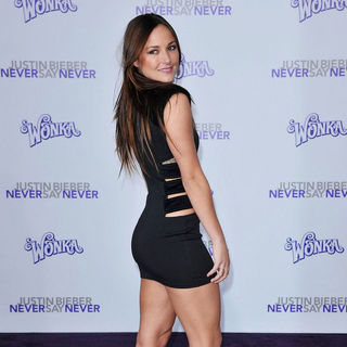 "Briana Evigan in Los Angeles Premiere of ""Justin Bieber: Never Say Never"""