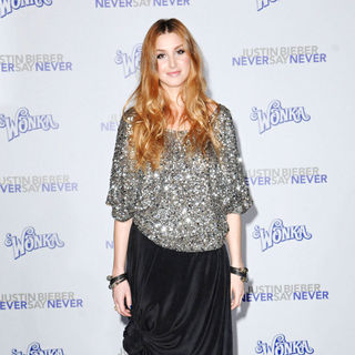 "Whitney Port in Los Angeles Premiere of ""Justin Bieber: Never Say Never"""