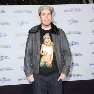"Perez Hilton in Los Angeles Premiere of ""Justin Bieber: Never Say Never"""