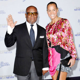 "L.A. Reid in Los Angeles Premiere of ""Justin Bieber: Never Say Never"""