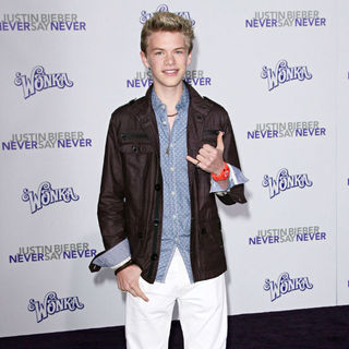 "Kenton Duty in Los Angeles Premiere of ""Justin Bieber: Never Say Never"""