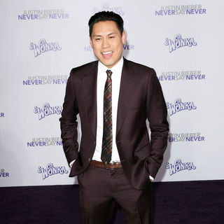 "Jon Chu in Los Angeles Premiere of ""Justin Bieber: Never Say Never"""