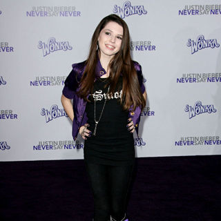 "Saige Ryan Campbell in Los Angeles Premiere of ""Justin Bieber: Never Say Never"""