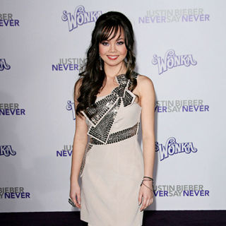 "Anna Maria Perez de Tagle in Los Angeles Premiere of ""Justin Bieber: Never Say Never"""