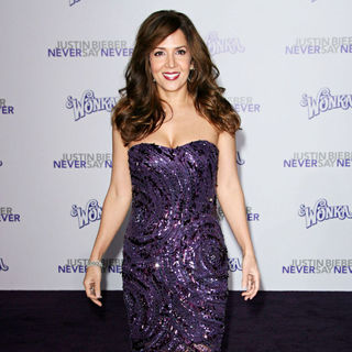 "Maria Canals Barrera in Los Angeles Premiere of ""Justin Bieber: Never Say Never"""