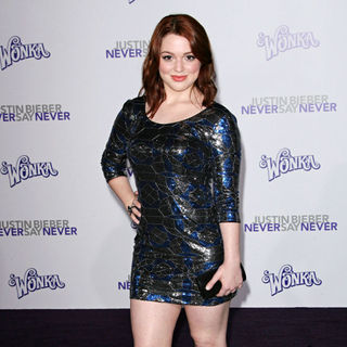 "Jennifer Stone in Los Angeles Premiere of ""Justin Bieber: Never Say Never"""