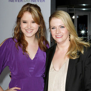 "Taylor Spreitler, Melissa Joan Hart in Los Angeles Premiere of ""Justin Bieber: Never Say Never"""