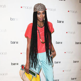 Solange Knowles in The Macys Bar III Brand and Pop Up Store Launch
